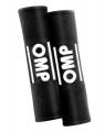 Návleky na bezpečnostní pásy OMP černé - 50mm