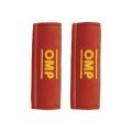 Návleky na bezpečnostní pásy OMP červené - 76mm
