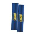 Návleky na bezpečnostní pásy OMP modré - 50mm