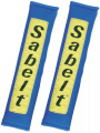 Návleky na bezpečnostní pásy Sabelt modré - 50mm