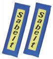 Návleky na bezpečnostní pásy Sabelt modré - 76mm