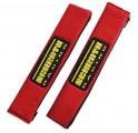 Návleky na bezpečnostní pásy Schroth červené - 50mm
