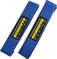 Návleky na bezpečnostní pásy Schroth modré - 50mm