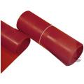 Plast na výrobu zástěrek Sandtler - červený - 28 x 50cm - tloušťka 5mm