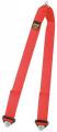 Přídavný rozkrokový popruh pro vícebodové bezpečnostní pásy Sabelt - červený (očko)