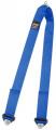Přídavný rozkrokový popruh pro vícebodové bezpečnostní pásy Sabelt - modrý (očko)