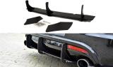Boční spoilery pod zadní nárazník+Zadní difuzor VW  SCIROCCO R 2009 - 2013