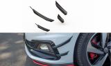 Přední přítlačné křidélka VW Polo GTI Mk6 2017-