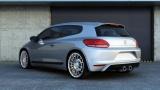 Zadní spoiler nárazníku VW Scirocco standard 2008 - 2014