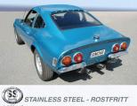 Výfukový systém Simons Opel GT 2.0 (68-73)