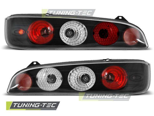 Zadní světla Fiat seicento 600 98-10 černá TUNINGTEC
