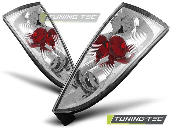 Zadní světla Ford focus MK1 10-98-10-04 hatchback chrom TUNINGTEC