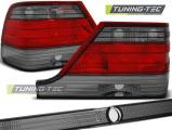 Zadní světla Mercedes S-Class W126 82-93 červená kouřová