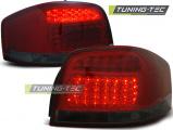 Zadní led světla Audi A3 05 / 03-08,červená kouřová