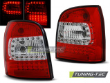 Zadní led světla Audi A4 94-01 combi červená bílá