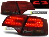Zadní led světla Audi A4 B7 04/11 - 03/08 combi,led červená kouřová