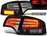 Zadní led světla Audi A4 B7 4/11/03/08 sedan,černá
