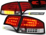 Zadní led světla Audi A4 B7 4/11/03/08 sedan,červená bílá
