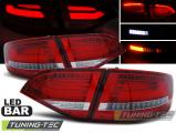 Zadní led světla Audi A4 B8 08-11, combi ,led červená bílá