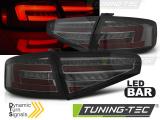 Zadní led světla Audi A4 B8 12-15 Sedan oem žárovka kouřová SEQ