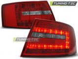Zadní led světla Audi A6 C6 sedan 04 / 04-08 červená bílá