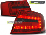 Zadní led světla Audi A6 C6 sedan 04 / 04-08 led červená kouřová