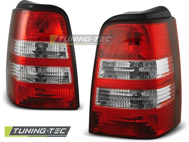 Zadní světla VW Golf 3 09-91-08-97 červená bílá TUNINGTEC