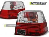 Zadní světla VW Golf 4 09-97-09-03 červená bílá