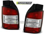 Zadní světla VW T5 04 / 03-09 červená bílá