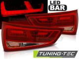 Zadní led světla Audi A1 2010-12-2014 červená bílá