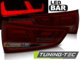Zadní led světla Audi A1 2010-12-2014 červená kouřová