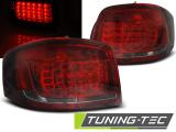 Zadní led světla Audi A3 08-12 červená kouřová