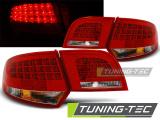 Zadní led světla Audi A3 8P 04-08 sportback červená bílá