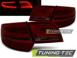 Zadní led světla Audi A3 8P 04-08 sportback červená kouřová