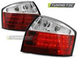 Zadní led světla Audi A4 10-00-10-04 červená bílá