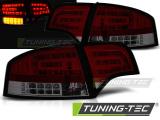 Zadní led světla Audi A4 B7 04/11 - 03/08 sedan červená kouřová