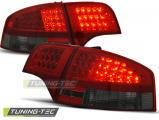 Zadní led světla Audi A4 B7 11. - 11-07.sedan červená kouřová