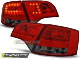 Zadní led světla Audi A4 B7 4/11/03/08 combi červená kouřová