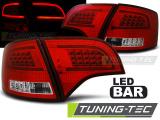 Zadní led světla Audi A4 B7 4/11/03/08 combi červená bílá