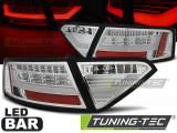 Zadní led světla Audi A5 07-06-11 chrom