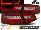 Zadní led světla Audi A6 08-11 sedan červená bílá