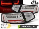 Zadní led světla Audi A6 08-11 sedan chrom