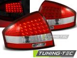Zadní led světla Audi A6 97-04 červená bílá