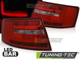 Zadní led světla Audi A6 C6 sedan 04 / 04-08 7kolíkový čerevná bílá