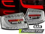 Zadní led světla Audi A6 C6 sedan 04-04-08 7PIN chrom