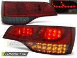 Zadní led světla Audi Q7 06-09 červená kouřová