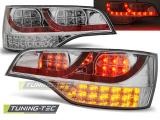 Zadní led světla Audi Q7 06-09 chrom