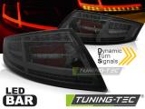 Zadní led světla Audi TT 04-06-02-14 kouřová