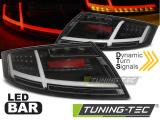 Zadní led světla Audi TT 0406-02-14 černá
