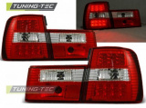 Zadní led světla BMW E34 02/88-12/95 sedan červená bílá
